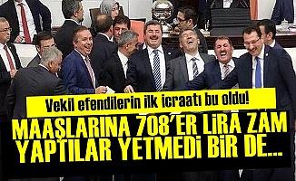 Milletvekillerine Büyük Kıyak!