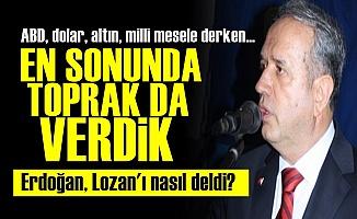 AKP En Sonunda Toprak da Verdi!