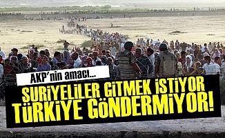AKP, Suriyelileri Göndermek İstemiyor...