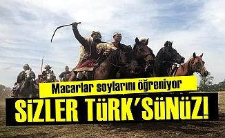 'Sizler Macar Değil Türk'sünüz'