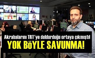 TRT'de Saltanata Olay Savunma!