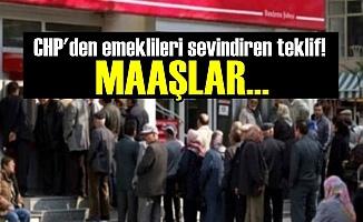 CHP'den Emeklileri Sevindiren Teklif!