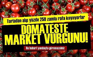 Domateste Market Vurgunu!