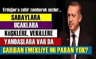 Erdoğan'a Neler Söyledi Neler?