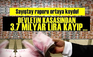 Sayıştay: Devletin 3.7 Milyar Lirası Kayıp...
