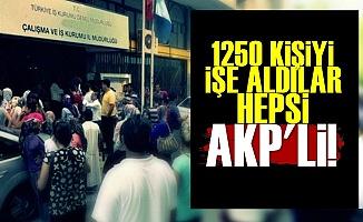 31 Mart Aşkına! 1250 AKP'liye İş...