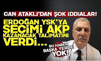 'Erdoğan YSK'ya 'Seçimi AKP Kazanacak' Talimatı Verdi'