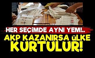 'AKP Kazanırsa Ülke Krizden Kurtulur'