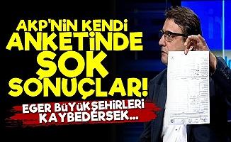 AKP'ye Kendi Anketinde Büyük Şok!