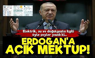 Erdoğan'a Açık Mektup!
