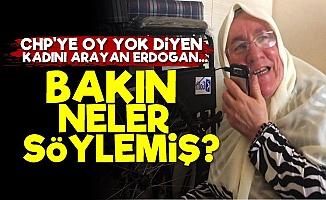 Erdoğan'dan O Kadına Jet Telefon!