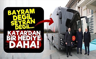 Katar'dan Erdoğan'a Bu Kez Otobüs!