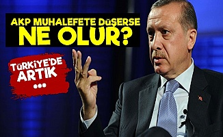 AKP Muhalefete Düşerse...