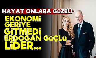 'Ekonomi Geriye Gitmedi, Erdoğan Güçlü Lider'