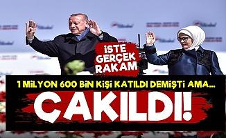 İşte İstanbul Mitinginin Asıl Rakamı!