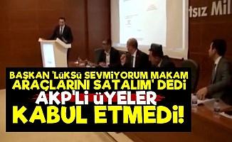 AKP'lilerin 'Lüks' Merakı Pes Dedirtti!