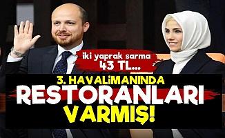 Erdoğan'ın Çocukları Restoran Açmış!