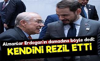 'Erdoğan'ın Damadı Kendini Rezil Etti'