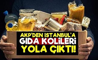 İstanbul'a Gıda Kolileri Yola Çıktı!