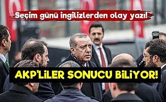 FT: AKP'liler Seçimin Sonucunu Biliyor