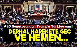 ABD Senatosu'ndan Şok Türkiye Çağrısı!