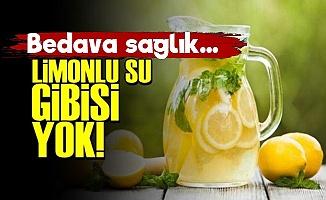 Limonlu Su Gibisi Yok! Bedava Sağlık...