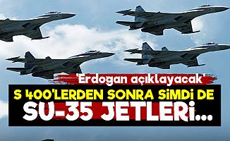 S 400'lerden Sonra Su-35 Jetler...