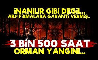 AKP'den 3 Bin 500 Saat Garantili İhale!