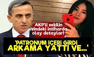 AKP'li Vekilin Evindeki İntiharda Olay Detaylar!