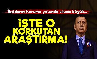İşte Tayyip Erdoğan'ı Korkutan Araştırma!