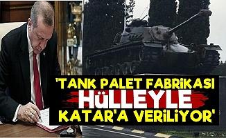 """Tank Palet Fabrikası'nda """"Hülle"""" Planı!"""