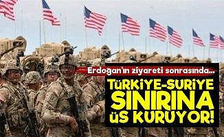 ABD, Türkiye Sınırına Üs Kuruyor!