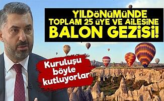 'Rüya Gibi Balon Gezisi İle Kutluyoruz'