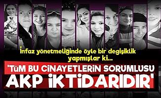 'Kadın Cinayetlerinin Sorumlusu AKP Çünkü...'