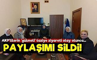 AKP'lilerin 'Gülmeli' Taziye Ziyareti Pes Dedirtti!