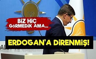 Davutoğlu: Erdoğan'a Çok Direndim Ama...