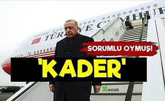 Erdoğan Suçluyu Buldu! 'Kader...'