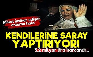 Erdoğan'ların Saray Aşkı Bitmiyor!