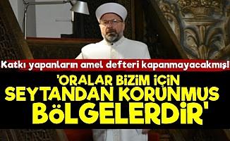Faizi TOKİ'ye Helal Yapan Diyanet Başkanı Maraş'ta Konuştu!