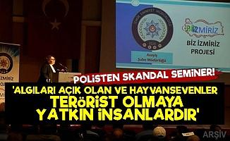 İzmir Emniyetinden Skandal Seminer!