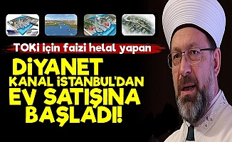 TOKİ Faizi Helal Yaşasın Kanal İstanbul!