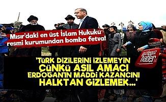 'Türk Dizileri Erdoğan'ın Maddi ve Siyasi Servetini Gizliyor'