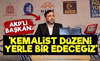 AKP'li Başkan Baklayı Ağzından Çıkardı!