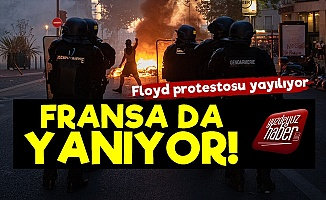 George Floyd Protestosu Fransa'ya Sıçradı!