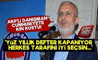 AKP'li Danışmandan Skandal Sözler!