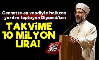 Diyanet'ten Takvime Servet Ödeme!