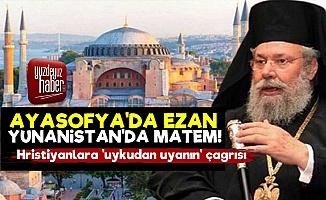 Yunanistan'da Ayasofya İçin Matem Çanı!