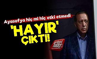 Erdoğan'a 'Hayır' Çıktı!