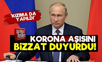 Putin, Koronavirüs Aşısını Bizzat Duyurdu!