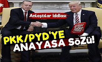 PKK/PYD'ye 'Anayasa' Sözü!